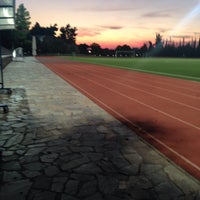 Photo taken at Soccer Field & Running Track ACG-Deree by Vicky N. on 11/15/2015