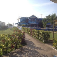 Photo taken at Travellers Beach Resort by Happy K. on 4/22/2014