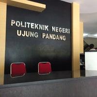 Photo taken at Politeknik Negeri Ujung Pandang by mb. willem on 12/16/2015
