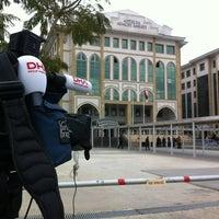 Photo taken at Antalya Adalet Sarayı by guven u. on 2/14/2013