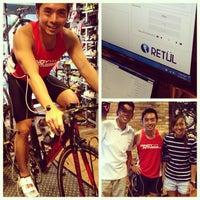 Photo taken at Primo Cycles, Fort Bonifacio by pinoyfitness on 2/14/2013
