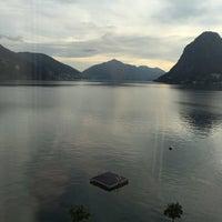 Photo taken at Hotel Lido Seegarten Lugano by Lennert V. on 11/13/2016