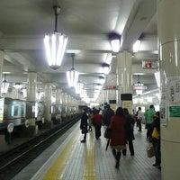 Photo taken at Midosuji Line Tennoji Station (M23) by Kazuhiro T. on 1/10/2013