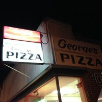 Photo taken at George's Pizza by Katie W. on 11/18/2012