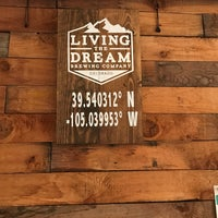 Photo taken at Living The Dream Brewing by Russell T. on 8/13/2017