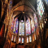 Photo taken at León Cathedral by Mar C. on 7/4/2013