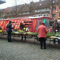 Photo taken at Dülmener Wochenmarkt by Füllekütt D. on 4/12/2013