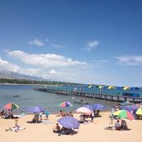 Photo taken at Zeto Beach by Anna K. on 7/26/2013