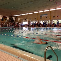 Photo taken at Zwembad Almere Stad by Liesbeth B. on 11/18/2012
