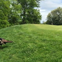 Photo taken at Newton Commonwealth Golf Course by Blaine G. on 6/3/2017