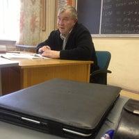 Photo taken at Военная Кафедра Финансового Университета by Андрей Б. on 11/22/2012