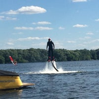 Photo taken at Flyboard by Evgenia V. on 6/12/2015