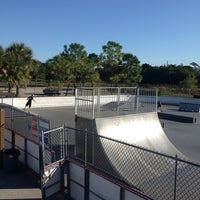 Photo taken at West Boynton Skate Park by Carrie J. on 11/1/2014