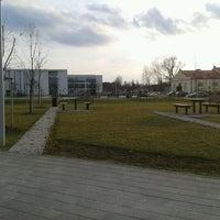 Photo taken at Debreceni Egyetem Kassai Campus by Csaba F. on 3/11/2013