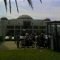 Photo taken at Masjid Nur Asmaul Husna by Yuda T. on 6/14/2013