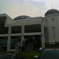 Photo taken at Masjid Nur Asmaul Husna by Yuda T. on 5/10/2013