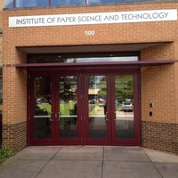 Photo taken at Institute of Paper Science and Technology by Beki H. on 9/23/2014