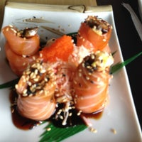 Photo taken at Wakame by Laura S. on 1/13/2013