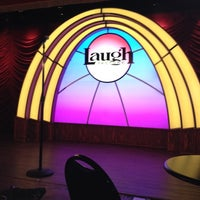 Photo taken at Laugh Factory by Pamela W. on 11/19/2012