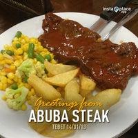 Photo taken at Abuba Steak by Ovilia F. on 1/14/2013