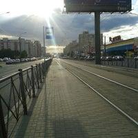 Photo taken at Трамвай №100 by Мaria M. on 6/27/2014