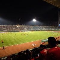 Photo taken at Supachalasai Stadium by Thor M. on 2/28/2017