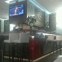 Photo taken at Saquella Espresso Club by Charlie C. on 12/20/2012
