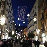 Photo taken at Corso Vittorio Emanuele by Cassandra P. on 12/9/2012