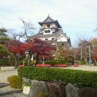 Photo taken at Inuyama Castle by Akitaka K. on 11/30/2012