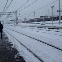 Photo taken at Stazione Seregno by Silvia M. on 2/12/2013