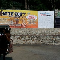 Photo taken at Mini Zoo Taman Teruntum by Khairul Z. on 3/29/2014