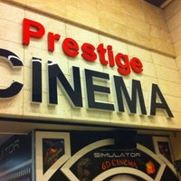 Photo taken at Prestige Cinema by Selim on 11/24/2012