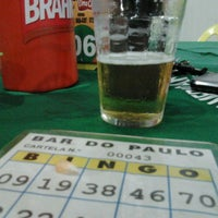 Photo taken at Bar do Paulo by Marcelo N. on 5/15/2013