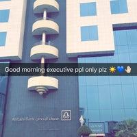 Photo taken at Al Rajhi Bank Head Office by Aziz B. on 4/1/2018
