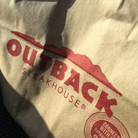 Photo taken at Outback Steakhouse by Jay K. on 4/30/2017
