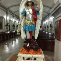 Photo taken at San Miguel Church by Ricky M. on 3/30/2013