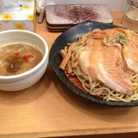 Photo taken at とろ肉つけ麺 魚とん by Yojiro M. on 5/16/2013