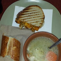Photo taken at Panera Bread by Sherri S. on 2/22/2014