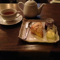 Photo taken at Bosie Tea Parlor by Chelsea V. on 12/16/2012