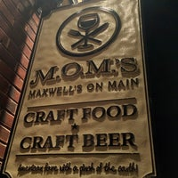 Photo taken at Mom's Maxwell's On Main by james d. on 12/1/2012