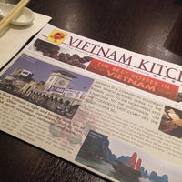 Photo taken at Vietnam Kitchen by Fyn S. on 10/29/2013