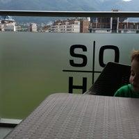 Photo taken at Балкона на мола by Elena D. on 6/9/2013