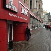 Photo taken at KFC by Sergey G. on 3/19/2013