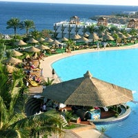 Photo taken at Pyramisa Resort Sharm El-Sheikh by 4SQ E. on 1/22/2013