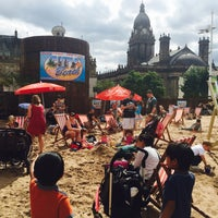 Photo taken at City Beach, Millennium Square by Donna D. on 8/9/2015