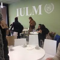 Photo taken at IULM University Bar by Isabel R. on 1/11/2017
