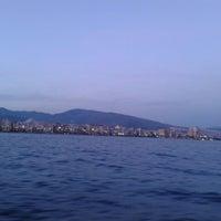 Photo taken at İzmir Körfezi by duygu s. on 4/13/2013