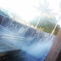 Photo taken at Monumento a las Cataratas del Iguazú by Alejandro F. on 12/13/2013