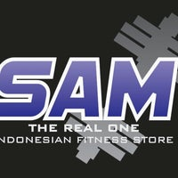 Photo taken at SAM Fitness Store by Yogy P. on 2/26/2015