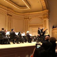 Снимок сделан в Stern Auditorium / Perelman Stage at Carnegie Hall пользователем mokay 11/16/2017